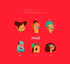 This project presents some principles for a campaign for Coca Cola in partnership with Goolge in Mexico for Christmas 2015. I was responsible for visual conception of characters. The project addresses the issue of prejudice and how to deal with him, in Me…