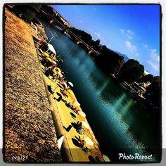 #Torino raccontata dai cittadini per #InTO Foto di @eva12f #murazzi #buonadomenica #beach #torinobeach #torinodalvivo #torinoècasamia #po #river #today #sunday #7settembre #niceday #sun #goodmorning #turin #torino