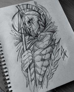 Longsleeve sketch Zeus/Hades #blackworkerssubmission #blackworkers_tattoo #illustrativetattoo #graphictattoo #TAOT #darkartists… Sketch Tattoo Design, Tattoo Sketches, Tattoo Drawings, Future Tattoos, Tattoos For Guys, Cool Tattoos, Hades Tattoo, Czech Tattoo, Greek God Tattoo