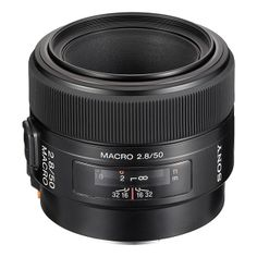 Sony 50mm f2.8 Macro Lenses