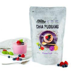 Chia pudink – lahodný proteinový pudink s chia semínky. Osvěžující nízkosacharidový pudink s vysokým obsahem bílkovin a chutí lesního ovoce. Sin Gluten, Gluten Free, Forest Fruits, Chia Pudding, Diet, Glutenfree, Glutenfree, Chia Pudding Breakfast, Grain Free