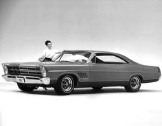1967 Ford XL Interceptor, based on the Ford (Galaxie) XL two-door hardtop. Finished in a medium Blue Murano Pearl paint.