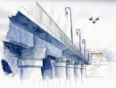 Pont Roosevelt sous la pluie | Flickr - Photo Sharing!