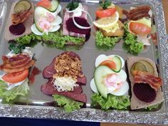 Vordingborg, Denmark. Sandwich tray