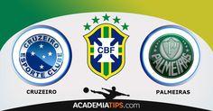 Cruzeiro x Palmeiras: O Cruzeiro é amplo favorito, ainda mais com o retorno de seu principal jogador no Mineirão. Vencer é importante para dar o passo...  http://academiadetips.com/equipa/cruzeiro-x-palmeiras-previsao/