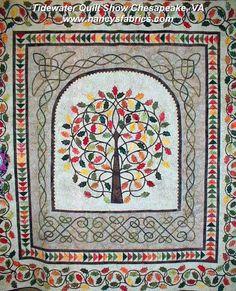 Nancy's Fabrics---Man who Quilts: Tidewater Quilt Show Chesapeake, VA