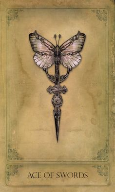 Steampunk tarot card by Bethalynne Bajema. Check out the other cards on her…