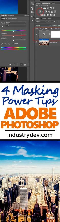 4 Masking Power Tips for Adobe Photoshop - If you've spent any amount of time in Photoshop, you most likely know the importance and power of masking. Masking can be either tedious or really very quick and efficient, depending on how you do it. In today's post, I offer some easy to use power tips to make your masking life more fun and effective. I show four tips, in plain language, that will help you shorten the time of any editing project. Click through to learn something new!