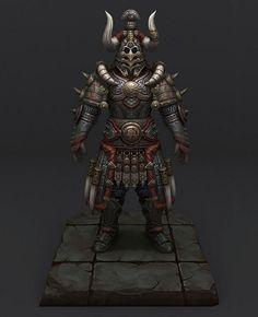 解析《三国之天》3D游戏角色黑武士的制作流程游戏教程-游戏美术教程网-游戏程序开发-Dogame游戏兵工厂