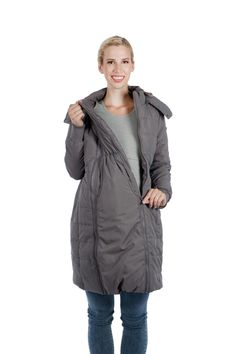 Modern Eternity MADISON – 3-in-1 Long Quilted Maternity Puffer Coat      #maternityclothes #maternitycoat #maternityjacket #maternity #ModernEternity