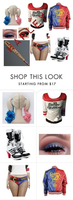 """""""Harley Quinn"""" by happyfromfairytail ❤ liked on Polyvore"""