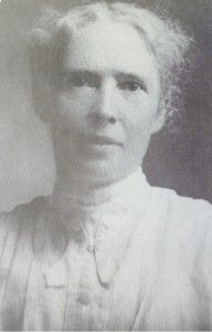 Frances L. Goodrich was a Presbyterian missionary and teacher from Binghamton, NY, who came to Madison County, NC in the autumn of 1890. She's responsible for getting the White Rock Hospital (originally Laurel Hospital) built in Marshall in the early years of the 20th century. It was a major accomplishment for that time.