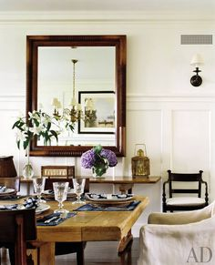 Traditional Dining Room by Victoria Hagan Interiors and Ferguson & Shamamian Architects in Nantucket, Massachusetts