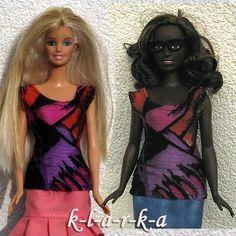 Tričko+pro+paneku+Barbie+i+baculku+Elastické+tričkona+Barbie.+Díky+vysoké+elasticidě+je+vhodné+jak+na+běžnou+Barbie,+taki+baculku+(Curvy+Barbie).+Natahovací+bez+zapínání.+(neumím+posoudit+zda+lze+obléknout+panence+s+pokrčenou+rukou,+proto+doporučuji+s+nataženýma+rukama).+(panenka+se+neprodává+je+pouze+modelka)+3+