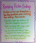 writing - narrative endings