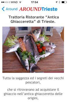 #RISTORANTEANTICAGHIACCERETTA ...Ristorante di pesce in centro a Trieste...cucina tipica e genuina.. www.anticaghiacceretta.com