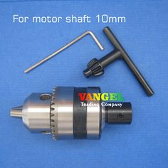 16.50$  Watch now - http://alit9b.shopchina.info/go.php?t=1809546327 - FitSain--10mm-B12 mini drill chuck B12 1.5-10mm Used for motor shaft 10mm for electric hand drill  machine tools pcb drill press  #aliexpress