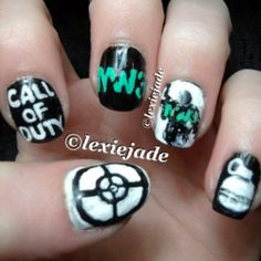 Call of Duty Nails