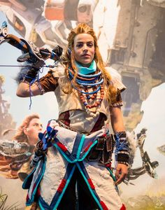 Aloy - Horizon Zero Dawn cosplay by Cosplayer: Lili Din Cosplay and Photographer: SF Pictures https://scontent.xx.fbcdn.net/t31.0-8/14633225_1685156578464731_5979198817748638319_o.jpg #horizonzerodawn #aloy #cosplay