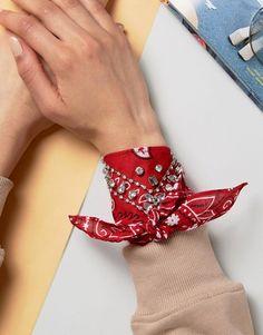 embellished bandana bracelet // ASOS