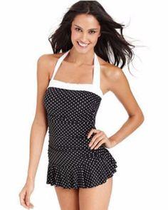 Swimwear NZ | RALPH LAUREN Tummy Control Swimdress | Honey Rose Outlet