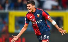 Download wallpapers Pietro Pellegri, Genoa, Serie A, soccer, football, Genoa FC, footballers