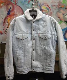 Vintage Lined Denim Levi's Jacket // Acid Washed by thesoupison, $32.00