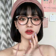 Korean Short Hair, Korean Girl Photo, Uzzlang Girl, Ulzzang Korean Girl, Make Up Looks, Korean Makeup, Natural Makeup, Makeup Inspiration, Asian Beauty