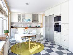 Modernt Retro kök. Modell: Retro, Färg: Äggskal | NordDesign Kök
