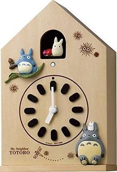 My Neighbor Totoro watch Studio Ghibli M899 wooden frame 4MH899-M06