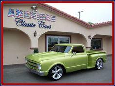 AutoTrader Classics - 1968 Chevrolet C10 Truck Green 8 Cylinder Automatic 2 wheel drive | Classic Trucks | Pomona, CA