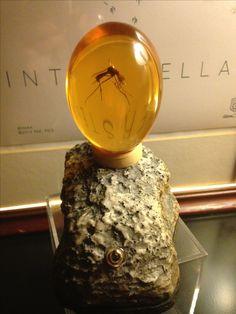 Jurassic Park Mosquito Amber Lamp