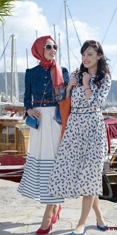 7e99f94451537 30 Modern Ways to Wear Hijab – Hijab Fashion Ideas