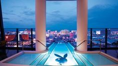 Another expensive hotel room in the world Hugh Hefner Sky Villa, Palms Casino Resort, Las Vegas