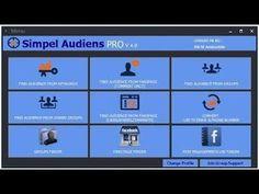 تحميل برنامج سحب الداتا Simple Audience X Factor اخر اصدار مجانا 2021