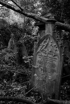 jan 15th 1886 by kitthougue, via Flickr do i ever love old tombstones... the camberwell old cemetery, london, england