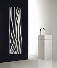 AFRICA Design Heizkörper Stil und temperamentvoll Design Heizung Küche, Vertikale Wohnzimmer Heizkörper Edelstahl Aluminium.