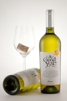 A Good Year Wines by the Labelmaker by the Labelmaker, via Behance