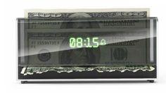 O despertador que rasga dinheiro se você não acordar