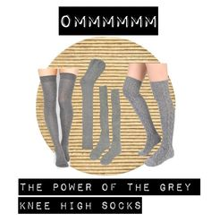 A fashion look from February 2016 featuring thigh high hosiery, knee hi socks and grey socks. Browse and shop related looks. Grey Socks, Thigh Highs, Hosiery, Women's Clothing, Asos, Fashion Looks, Yoga, Clothes For Women, Female