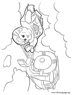 In This Beautiful Picture Superman Is Flying To Help His Friends The Lego Universe Have Fun With Free Movie Coloring Page