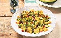 Deliciously Ella's mango and avocado salsa is the perfect accompaniment to any   summer dish