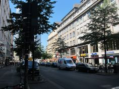 Frankfurt Germany, Street View, Scouts
