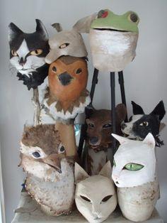 Isabelle Thibeault paper scultures