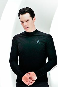 "Ben as Khan in ""Star Trek Into Darkness"" <3 .."