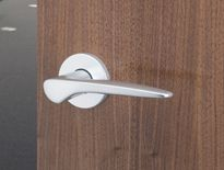 41051 - FSB Johannes Potente designed lever handles with concealed fixing roses Modern Interior, Door Handles, Roses, Hardware, Stainless Steel, Architecture, Brooklyn, Films, October
