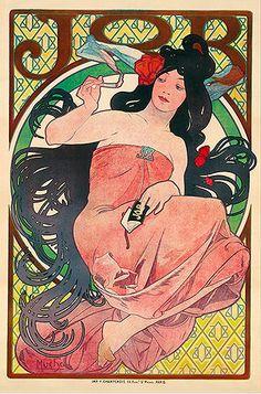 1894 Job. Alphonse Mucha