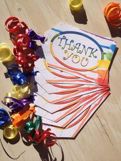 8 Thank You Tags // Paint Party // Art Party  // by PixelStickStudio, $4.00