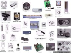 Different types of #sensors #ECE #EEE
