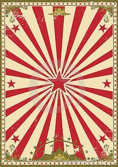 Imagen, fondo de circo.